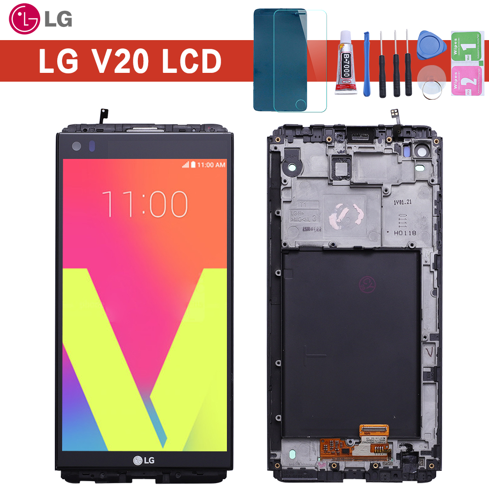 Warranty 5.7'' 2560x1440 IPS LCD For LG V20 LCD Display Touch screen VS995 VS996 LS997 H910 Digitizer Replacement