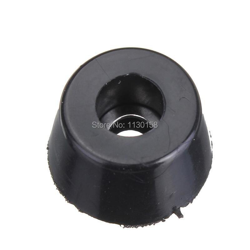 5Pcs Brand New Durable Rubber Instrument Case Non-slip Cabinet Instrument Box Case Foot Bumpers Feet 25x20x13 box of 5pcs 110q2g43 new