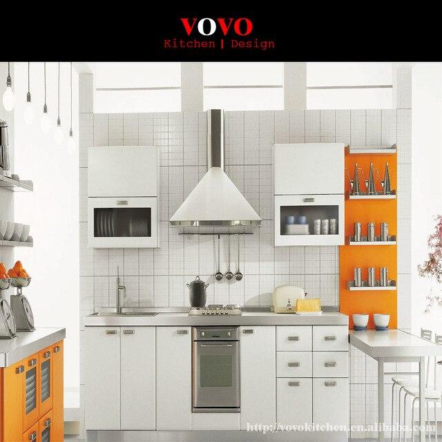 Putih Lukisan Panggang Dapur Kabinet