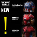 2016Gym Punisher Сжатия Рубашка Супермен Капитан Америка Железный человек 3D Печати Футболка Супергерой Crossfit Мужские Стиль FashionTops