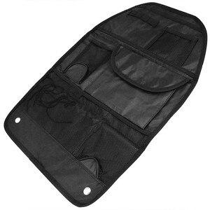 Image 2 - 車後部座席ハンギング主催子供ユニバーサル Tidy のポケットトラベル収納自動車インテリア整頓黒