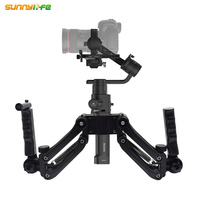 New Arrival 4 Axles Dual Handheld Gimbal Stabilizers for DJI Ronin S OSMO/ OSMO Mobile/ 2