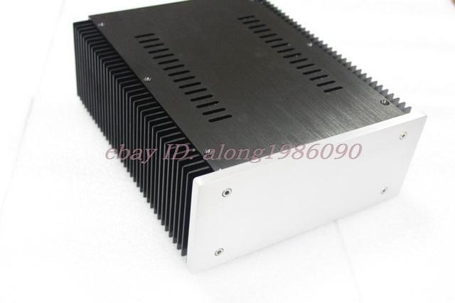 B2109 Completa Alumínio Gabinete amplificador de Potência chassis PSU DAC caso de volta em branco
