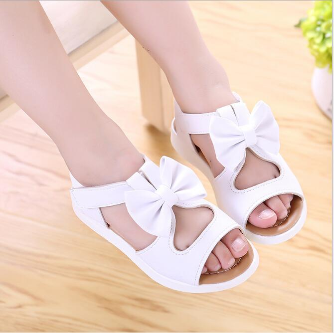 Baby Girls Shoes Girls Princess Shoes 2019 Summer Bowtie Fashion Children Sandals Kids Dance Single Girl SandalBaby Girls Shoes Girls Princess Shoes 2019 Summer Bowtie Fashion Children Sandals Kids Dance Single Girl Sandal