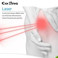 Infrared light massage cold laser therapy massager machine physiotherapy and rehabilitation knee pain relieve equipment