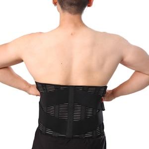 Image 3 - Unisex bel ortopedik korse fıtık disk Brace Fajas düşük arka destek braketi üzerinde lomber omurga geri kemer doğrudan satış
