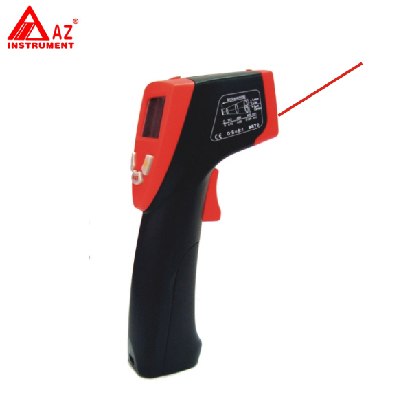 AZ-8872 Portable Gun Type Infrared IR Handheld Thermometer  цены