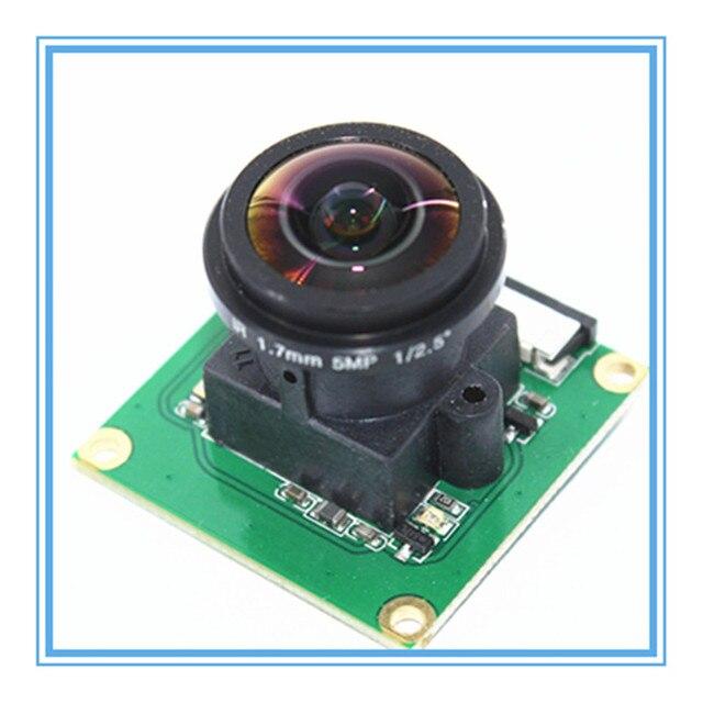 ラズベリーパイカメラモジュール OV5647 5MP 175 度広角魚眼レンズラズベリーパイ 3/2 モデル B カメラモジュール