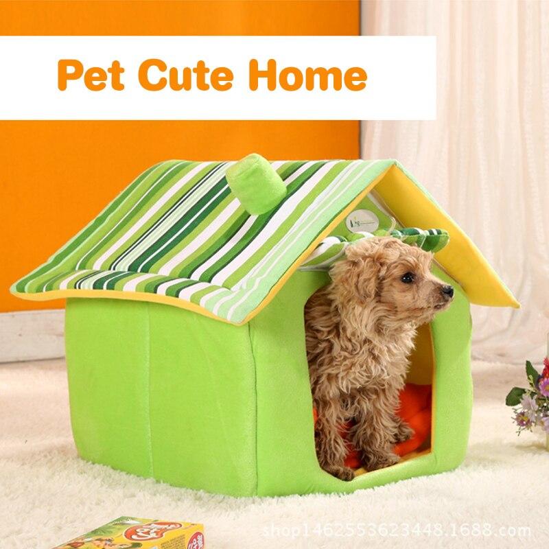 Winter Dog House Warm Cat House Sofas Cartoon Aircraft Chick Shape ...