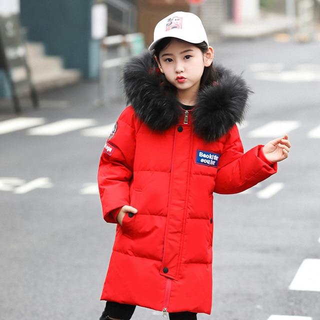 71567b4a1eb6 New Boys Jackets Parka Children Outerwear childen winter jackets for ...