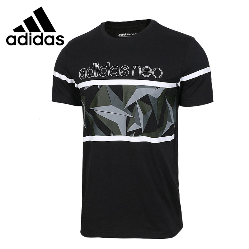 Original New Arrival  Adidas NEO M CS BRNDED TEE Men's T-shirts short sleeve Sportswear