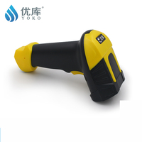YK A8 Best 1D Laser Scanner Bar code Reader USB/ RS232/PS/2 Interface 150 Times/sec Free shipping