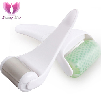 Beauty Star Ice Derma Roller For Facial Skin Cooling Dermo Roller Massager for Face Body Massage PreventiWrinkle Skin Tighten