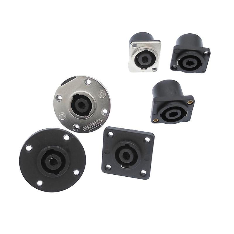 Speakon Connectors Socket Plug Nl4fc Type 4 Pole Speaker Connector