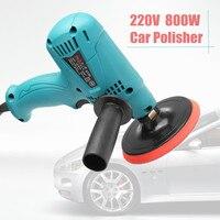220 v 600 w 자동차 폴리 셔 3500r/min 속도 조절 전기 자동차 보트 연마 왁싱 샌더 버퍼