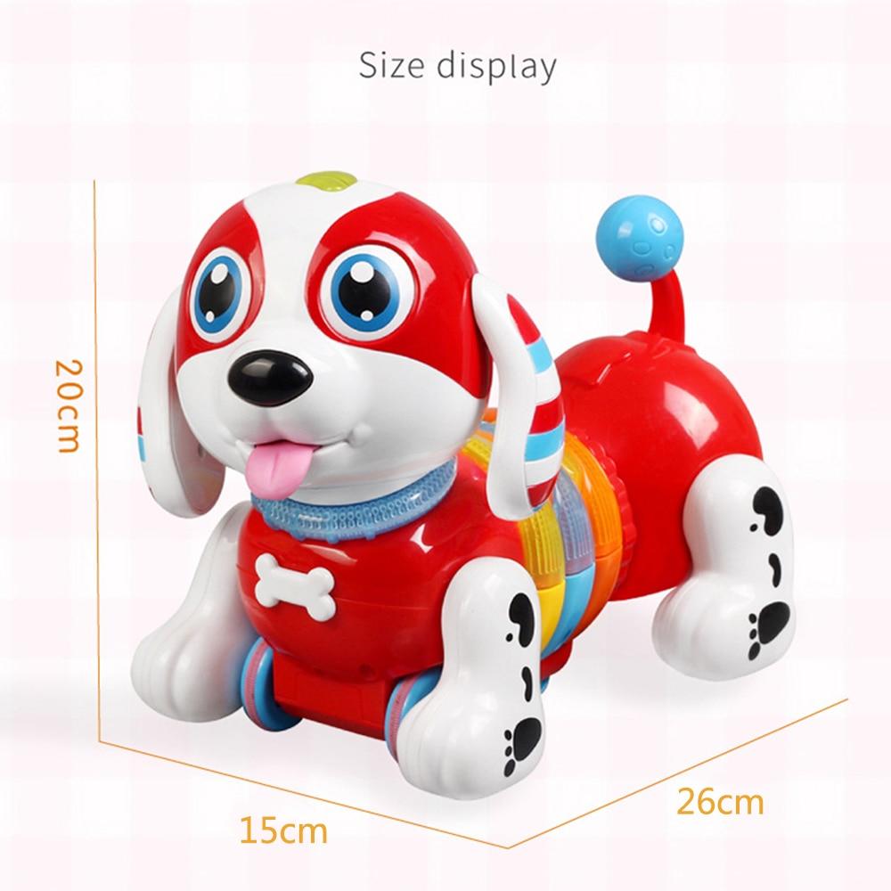 Забавная электронная собака пластиковые родитель-ребенок Взаимодействие напиток молоко собака для образовательные игрушки, Прямая поставка