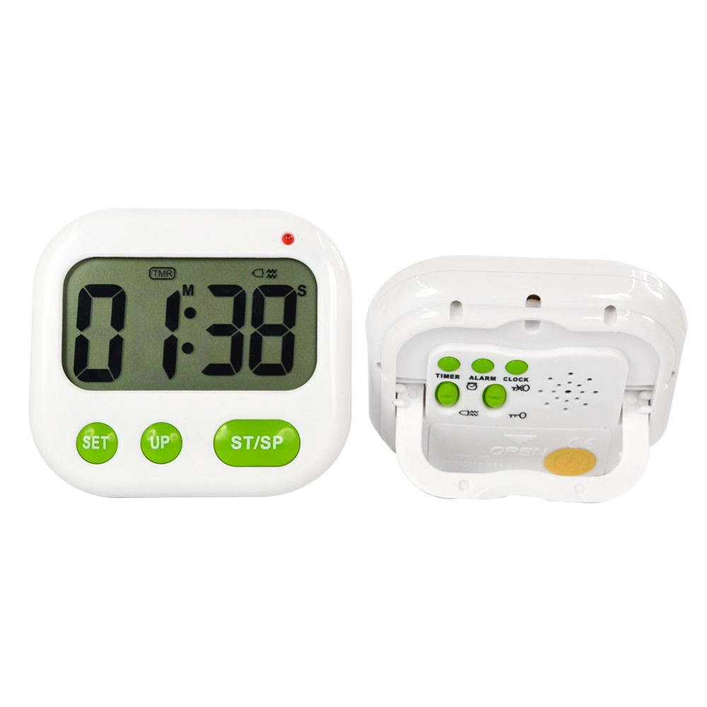 US $8 99 |Digital LCD Alarm Clock 24 hours Kitchen Sport CountDown Timer (  Music / Vibration)-in Alarm Clocks from Home & Garden on Aliexpress com |