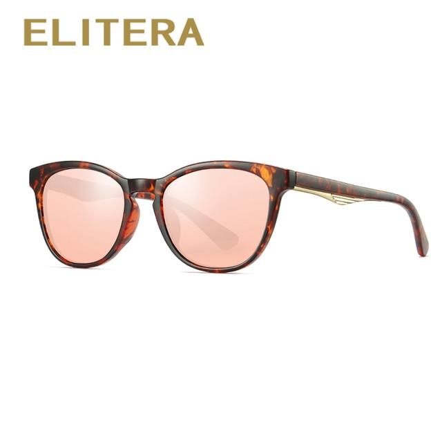 00b69c9fa1d ELITERA Round Polarized Sunglasses Luxury Summer Style Sun Glasses For Women  Ladies Sunglass Shades Goggles UV400