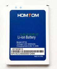HOMTOM HT16 100% Original Replacement 3000mAh li-ion Back-up Battery for HOMTOM HT16 Pro Smartphone