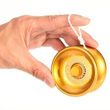 3 цвета Высокоскоростной отзывчивый алюминиевый сплав йо-йо дети магический йойо мяч игрушка для жонглирования профессиональные струны веселые детские игрушки