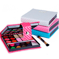 New Portable Wallet style Makeup Kit Eyeshadow set wholesale Powerful Eye Shadow Palette Make Up For Beauty Free Shipping