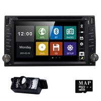6.2 universal Car DVD Player For Nissan Double 2 din Car Radio GPS Navigation In dash Head Unit Car PC Stereo SWC+Free Map Cam