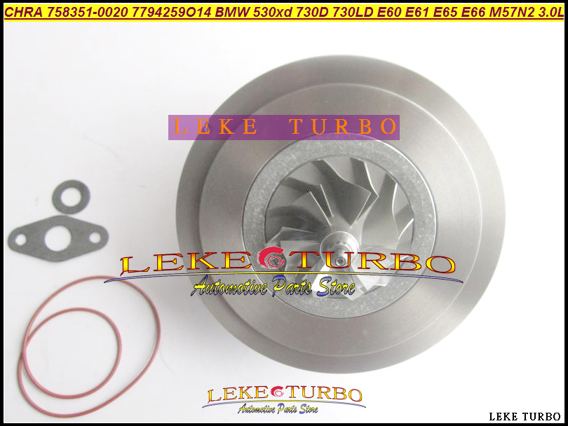 Turbo Cartridge CHRA 758351 758351 0015 758351 0017 758351 0019 758351 0020 758351 0022 758351 0024 E60 E61 E65 E66 7794260 M57N|chra|chra turbo|  - title=