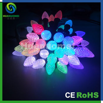 Led Color Changing Linkable 16 Feet Christmas Light String With 50