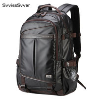 svvisssvver business men backpack waterproof 15.6inch computer USB charging travel bag multifunction Sport leisure male backpack