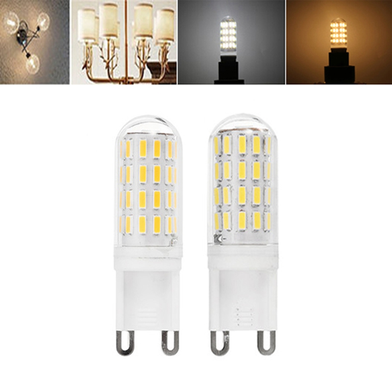 Energy Saving 52 LEDs LED Lamp Bulb G9 2.5W 4014SMD Cold Warm White LED Light Bulb AC100-240V Replace Halogen Lamp
