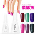 Neon Colorful Gel Nail Polish Led Gelpolish DIY Nail Art  Varnish Long Lasting Soak Off Gel Nail Lacquer
