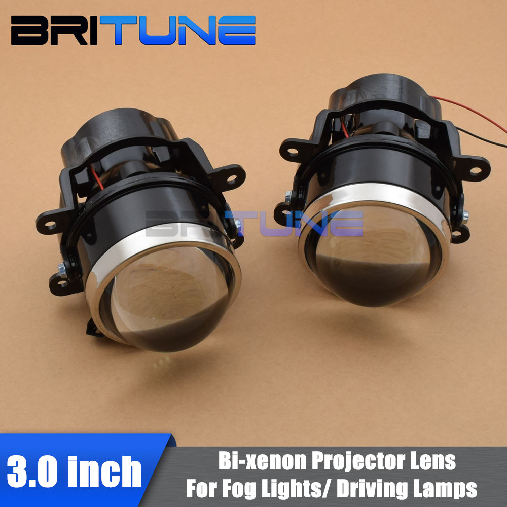 Fog Lights Lens For Ford Focus/Subaru Forester/Peugeot/Honda CRV/Fiat/Suzuki Bi-xenon Projector Lens H11 Tuning Car Accessories