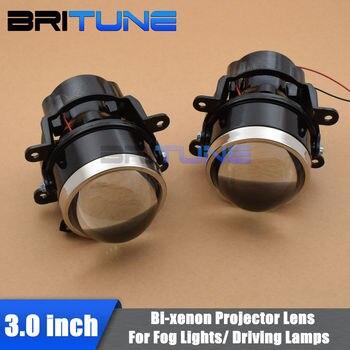 Fog Lights Lens For Ford Focus/Subaru Forester/Peugeot/Honda CRV/Fiat/Suzuki Bi-xenon Projector Lens H11 Tuning Car Accessories
