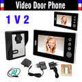 "Wireless Video Intercom System Video Door Phone 7"" Doorphone Intercom Doorbell Video Door Bell Wireless Doorbell With Camera 1V2"