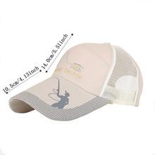 Summer Golf Baseball Mesh Cap Adjustable Sports Sun Visor Hat Unisex fishing Cap