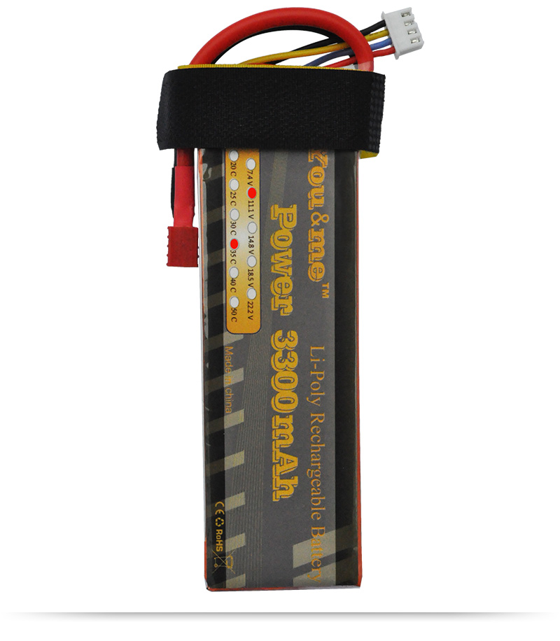 You me Lipo Battery 3300MAH 11 1V 35C 70C for font b RC b font Airplane