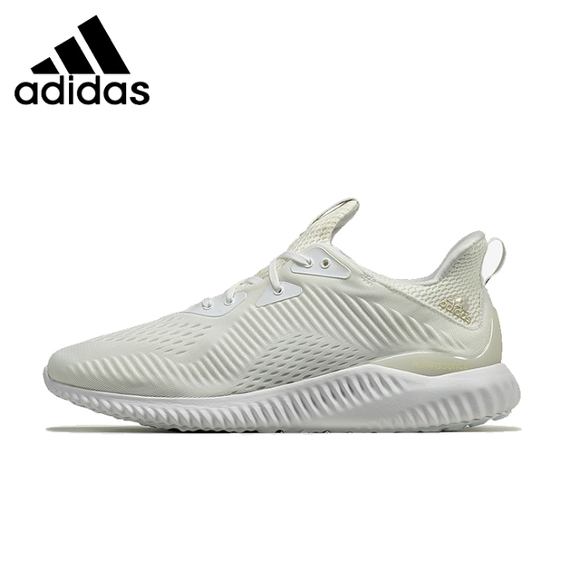 f35f3eb84da91 ADIDAS Alpha Bounce 1 Mens   Womens Running Shoes Mesh Breathable Stability  Support Sports Sneakers For Women And Men Shoes