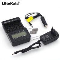 Liitokala Lii-100 500 LCD 3,7 V 18650, 18350, 18500, 16340, 17500, 25500, 10440, 14500, 26650, 1,2 V AA AAA NiMH cargador de batería de litio
