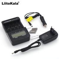 Liitokala-100 LCD, 500 V, 3,7, 18650, 18350, 18500, 16340, 17500, 25500, 10440, 14500 V, AA, AAA, NiMH, cargador de batería de litio