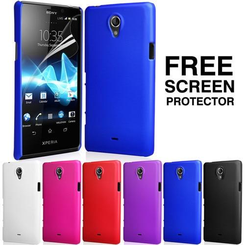 Funda rígida híbrida para Sony Xperia T LT30p en alta calidad + 10 colores disponibles