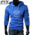 POPVISKEY Brand Hoodies Men's Diamond Printing Sweatshirts Men Hip Hop Hoodies Hombre Sweatshirt Hooded Skateboard Pullover