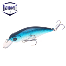 Купить с кэшбэком 1PCS Laser Minnow Fishing Lure 9.5CM 11.3G Pesca Hooks Fish Wobblers Tackle Crankbait  Isca Artificial Japan Hard Bait Swimbait