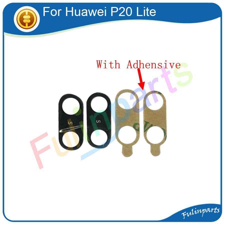 لهواوي P20/P20 لايت/P20 برو غطاء لعدسات النظارة الخلفية الكاميرا الخلفية عدسة مع في Adhensive ملصق استبدال أجزاء + أدوات
