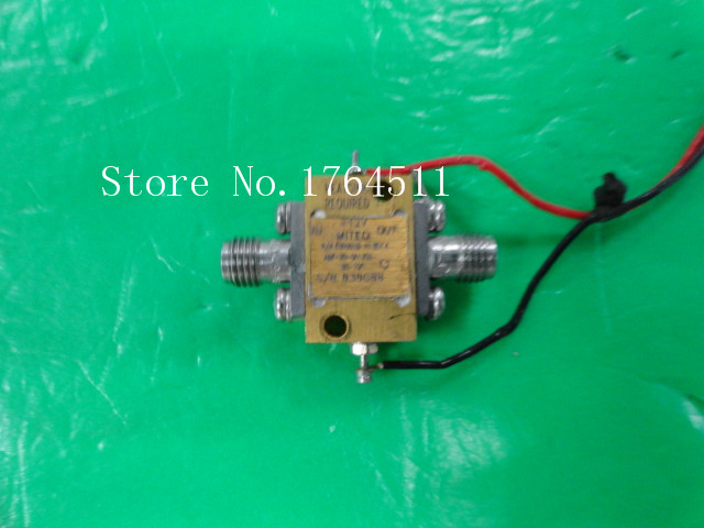 [BELLA] MITEQ AMF-20-001220-65-10P 0.1-22GHz 10dB 12V Low Noise Amplifier