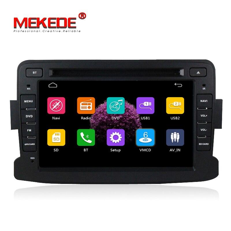Емкостный экран gps Навигатор Радио для Dacia Renault Duster Logan Sandero автомобильный DVD центральный Кассетный плеер бесплатная доставка
