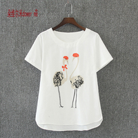 Women Summer Oversized T Shirt Casual Tee Shirt Femme Ladies Top Tees Cotton Tshirt Female Brand