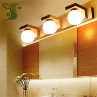 LED 10W 15W mirror front lamp led modern waterproof fog, wood lighting dressing table lamp bathroom wall li with G9 led