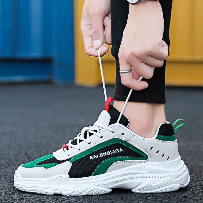 Official Original Authentic Men Height Increasing Running Outdoor Sport LUCAS RAPIDAFLEX Shoes Deportiva 270 Max Size 44 Sneaker