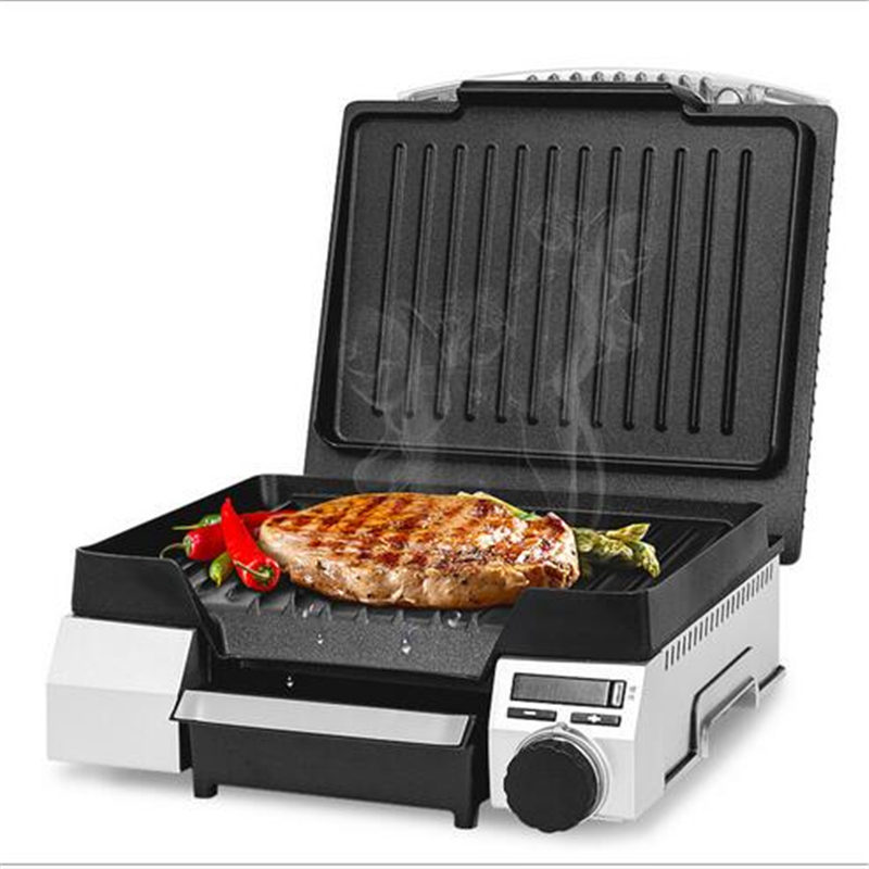 Electric Smokeless Non-Stick Oven Skillet Baking Steak Machine Sandwich Beef Barbecue Meat Fryer Toaster For Commercial or Home skillet skillet unleashed lp cd