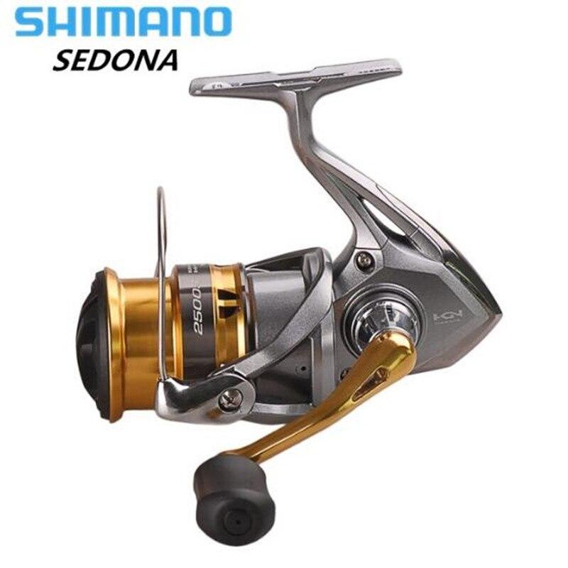 Reel SHIMANO SEDONA Spinning Angeln Reel C2000S/C2000HGS/2500/2500 s/2500HG/C3000HG/6000 /8000 4BB Saltewater Angelrollen Pesca